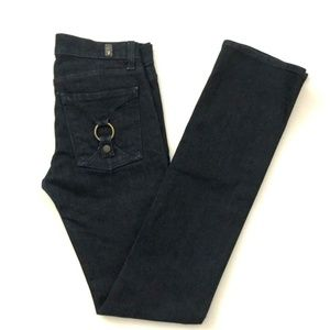 7 For All Mankind Straight Leg Jeans 25